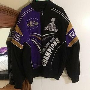 Ravens Superbowl XLVII Jacket